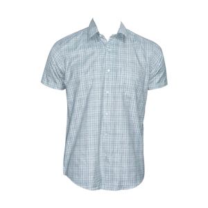 OXEMBERG Men Formal Shirt LOXSL99860H Short Sleeve  Grey