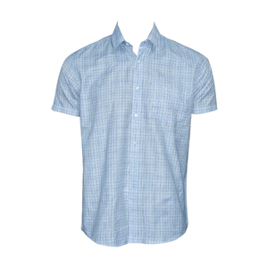 OXEMBERG Men Formal Shirt LOXSL99860H Short Sleeve  Ice