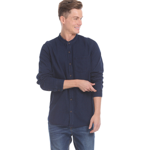 GAP Men Casual Topwear 51302103401 Long sleeves Blue