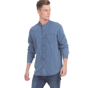 GAP Men Casual Topwear 51302138402 Long sleeves Blue