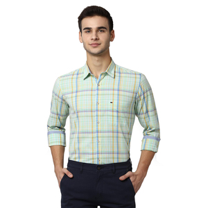 Peter England Mens Shirt PCSFCSLPM51346 �Green