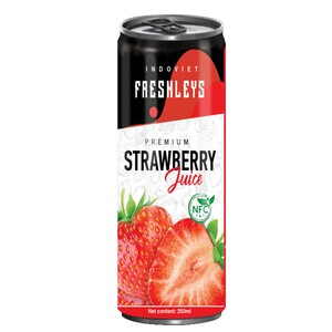 Freshleys Strawberry Fruit Juice 250ml