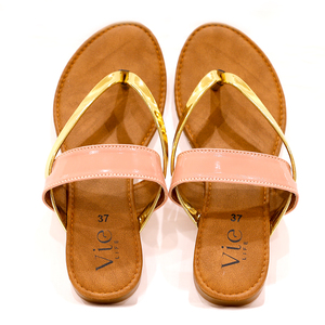 Vie Life Slipper Mid Strap 2 Strip
