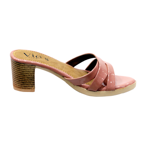 Vie Life Slipper Heels Criss Cross