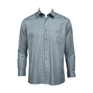 J.Hampstead Men Formal Shirt LJH4589F GREY