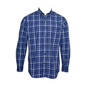 OXEMBERG Men Casual Shirt LOJN1335F Long Sleeve  Navy