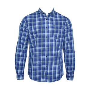 OXEMBERG Men Casual Shirt LOJN1346F Long Sleeve  Navy