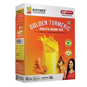 Kitchen Treasures Golden Turmeric Health Drink Mix 250g