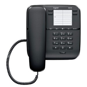 Gigaset Coded Telephone DA310 Black