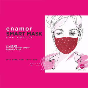 Enamor Three Layer Smart Face Mask-Assorted