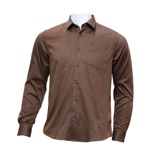 Blackberrys Mens Shirts Formal MSNM6855C1NA19FL Brown