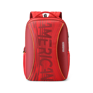 American Tourister Back Pack Twing 02 Red