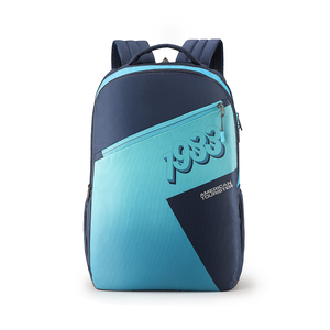 American Tourister Back Pack Twing 01 Blue