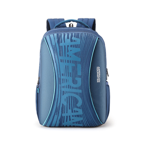 American Tourister Back Pack Twing 02 Blue