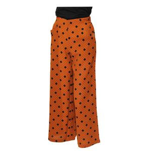Teen19 Girls Casual Full Length Palazzo/Parallal Pant- Brown