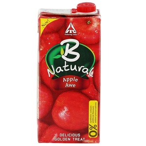 B Natural Apple Juice 1Litre