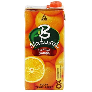 B Natural Orange Juice 1Litre