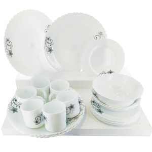 Cello Dinner Set Imperial Deco 21Pc With Cup