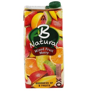 B Natural Mixed Fruit Juice 1Litre