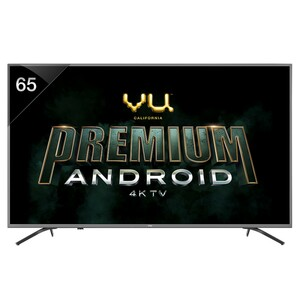Vu 4K Ultra HD Android Smart LED TV 65OA 65""