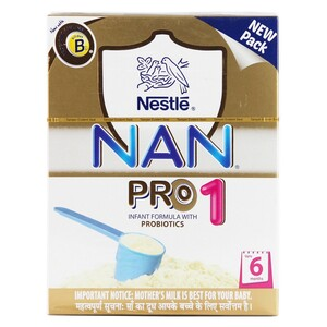 Nestle Baby Milk Powder Nan Pro 1 Infant Formula 400g