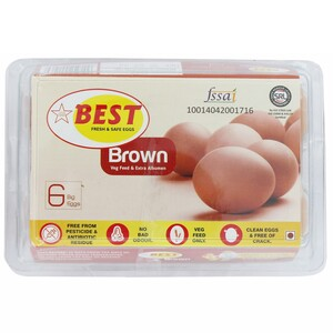 Best Brown Egg 6's