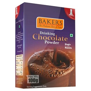 Bakers Drinking Chocolate Powder 100g
