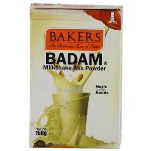 Bakers Badam Milk Shake Mix Powder 100g