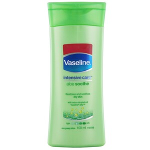 Vaseline Body Lotion Aloe Soothe 100ml