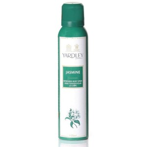 Yardley Womens Deo Jasmine 150ml