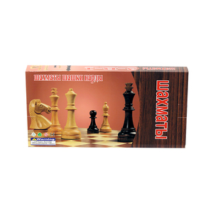 Playwell Chess Board Wood King KCM10