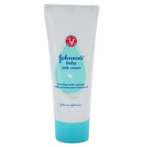 Johnson & Johnson Baby Milk Cream Vitamin A & E 30g