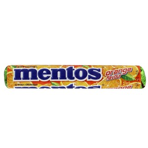 Mentos Orange Chewy Dragees 31.2g