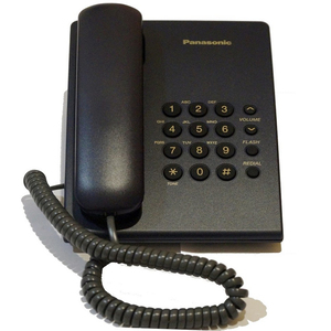 Panasonic Telephone KX-TS500 Blue