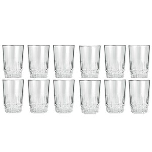 Lucky Glass Tumbler 12Pc