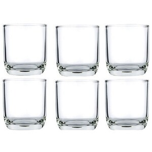 Lucky Glass Tumbler 6Pc