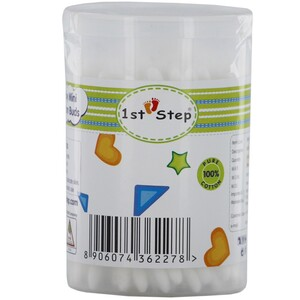 1st Step Cotton Buds ST-3105 100's