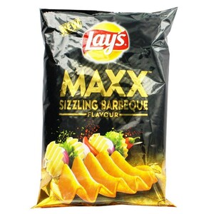 Lays Sizzling Barbeque Potato Chips 58g