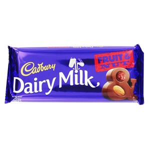 Cadbury Dairy Milk Fruit & Nut 80g