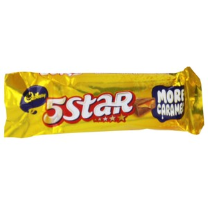 Cadbury 5 Star Chocolate 20.5g