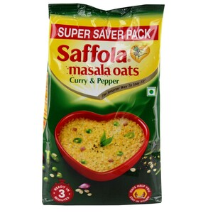 Saffola Oats Curry & Pepper 400g