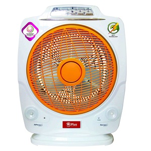 Mr Plus Rechargeable Fan With LED Light  3412