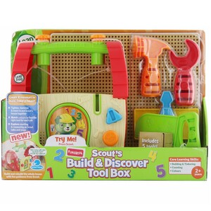 Leap Frog Build & Discover Tool Box 7138600