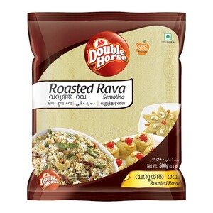 Double Horse Roasted Rava 1kg