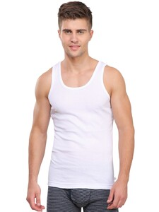 Jockey Mens Vest 8823 2Pc Pack