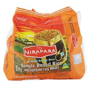 Nirapara Single Boiled Rice 5kg
