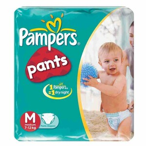 Pampers Diaper Pants Medium 8 Units