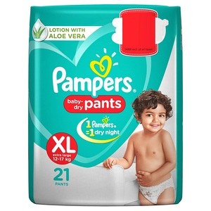 Pampers  Diaper Pants XL 21's