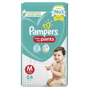 Pampers Pants Medium 54 Units