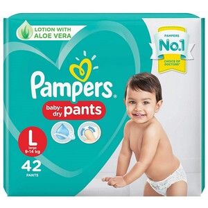 Pampers Pants Large 42 Units